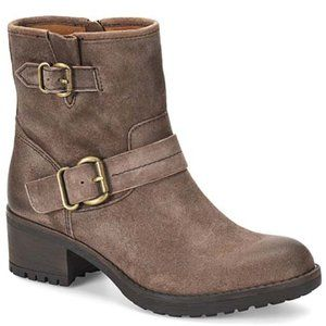 Comfortiva | Taupe Barron Suede Ankle Boot